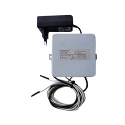 S12 waterontharder, electronische ontharder inclusief 230V adapter