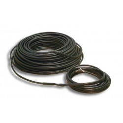 ADPSV 92mtr 6mm verwarmingskabel 20W per mtr 1850W 230Vac, robuuste verwarmingskabel voor in zand cement of beton