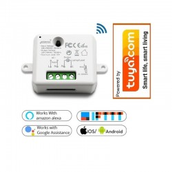 Wifi inbouw actor 10A, 230V (passend in inbouwdoos)