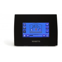 Watts Touchscreen controller ZWART WiFi, BT-CT02-BK RF WiFi, inbouw